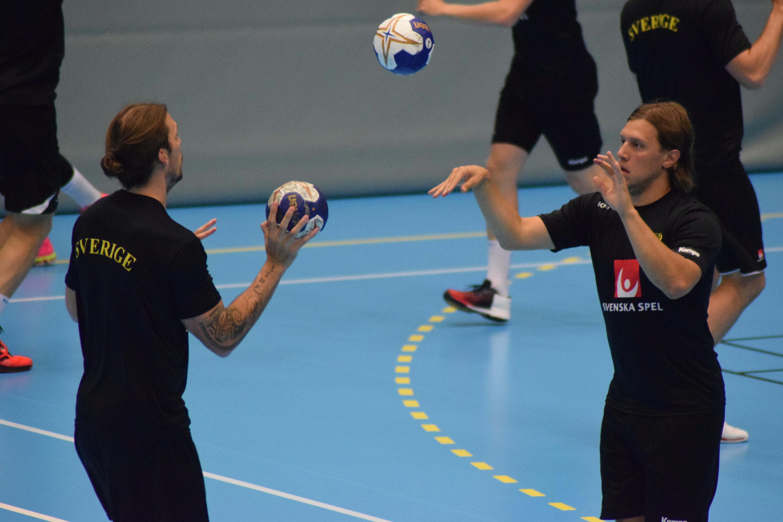 Handbollslandslaget träning Ystad 3 jul 2016 DSC_0035