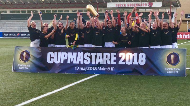 FC Rosengård cupmästare