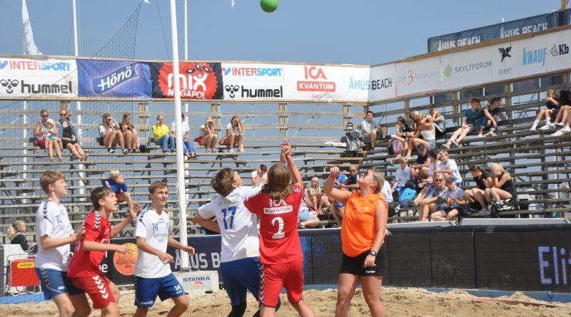 Åhus Beachhandbollfestival över