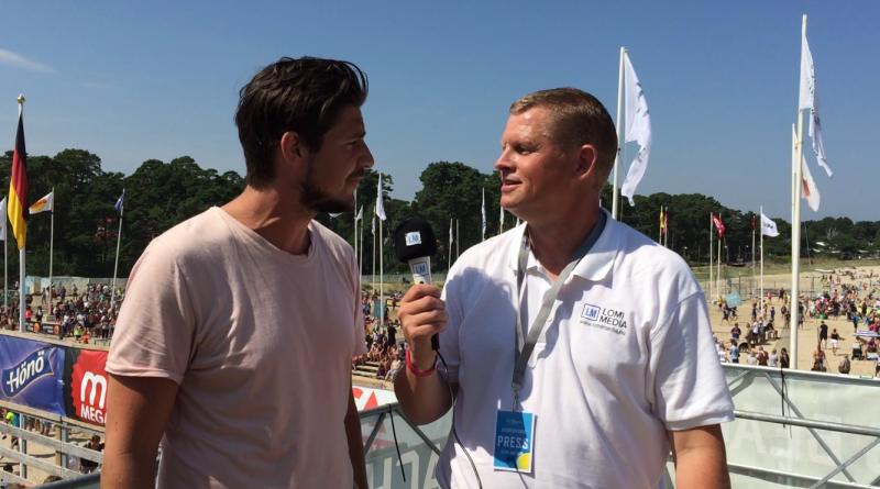 Intervju från Åhus Beachhandboll Festival