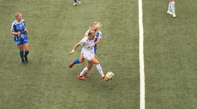 Målkalas av FC Rosengård