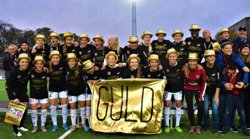 BILDEXTRA: FC Rosengård säkrade SM-guldet