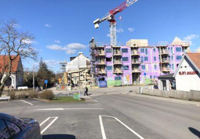 Ombyggnaden av centrum i Södra Sandby